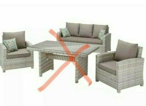 KONIFERA Gartenmöbelset Bolero Bank 2 Sessel ohne Tisch B91299866OT | KONIFERA Gartenmbelset Bolero B91299866 233547039238