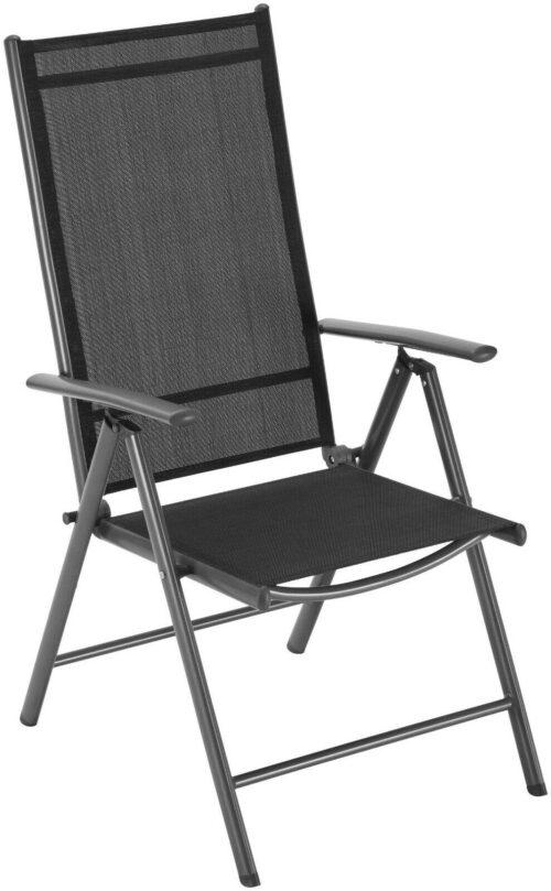Gartenstühle 4er Set Alu/Textil Oslo verstellbar Wendeauflage B762525S | KONIFERA Gartenmbelset Oslo 4 Hochlehner Tisch AluTextil B394402 UVP 27999 333396016850 3