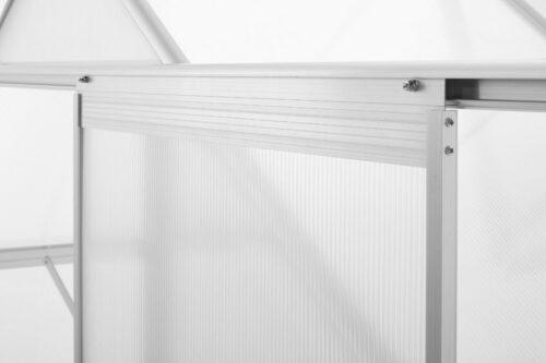 KONIFERA Gewächshaus Florenz BxT:190x253 cm silberfarben B67642663 UVP 329,99€ | KONIFERA Gewchshaus Florenz BxT190x253 cm silberfarben B67642663 UVP 32999 333333444131 8