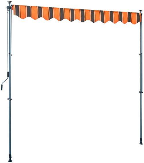 KONIFERA Klemmmarkise orange/braun, Breite: 300 cm B52916043 UVP 129,99€   KONIFERA Klemmmarkise orangebraun Breite 300 cm B52916043 UVP 12999 233182733502 4