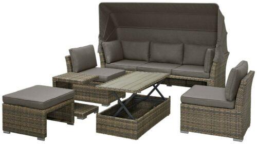 KONIFERA Loungebett Hawaii Premium A17849465 UVP 999,99€ | KONIFERA Loungebett Hawaii Premium inkl Auflagen B17849465 UVP 99999 233207710494 4