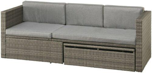 KONIFERA Loungeset Lagos Premium13-tlg. Polyrattan B77904209 UVP 699,99€ | KONIFERA Loungeset Lagos Premium13 tlg Polyrattan B28364946 UVP 59999 333413417796 4