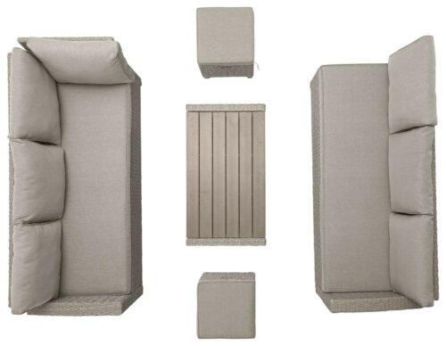 KONIFERA Loungeset Lorca de luxe 16tlg. Polyrattan Lounge B96292415 UVP 599,99€   KONIFERA Loungeset Lorca de luxe 16 tlg Polyrattan Lounge B96292415 UVP 69999 233593910309 12