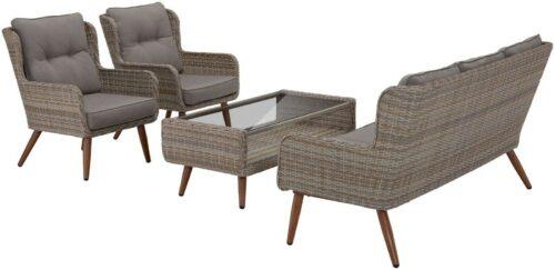 KONIFERA Loungeset Malibu 14-tlg. 3er Sofa 2 Sessel Tisch B56622956 UVP 799,99€ | KONIFERA Loungeset Malibu 14 tlg 3er Sofa 2 Sessel Tisch B32656601 UVP 79999 233586736919 2