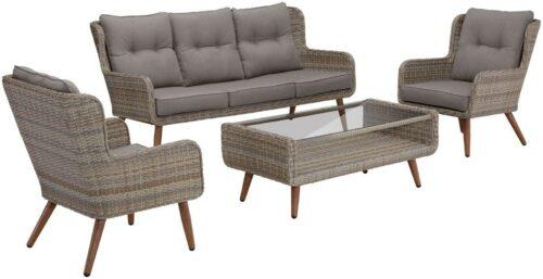 KONIFERA Loungeset Malibu 14-tlg. 3er Sofa 2 Sessel Tisch B56622956 UVP 799,99€ | KONIFERA Loungeset Malibu 14 tlg 3er Sofa 2 Sessel Tisch B32656601 UVP 79999 233586736919