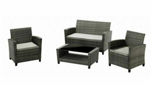 KONIFERA Loungeset Porto 2 Sessel 2er-Sofa Tisch Polyrattan B479297 UVP 299,99€ | KONIFERA Loungeset Porto 2 Sessel 2er Sofa Tisch Polyrattan B479297 UVP 29999 233290559788