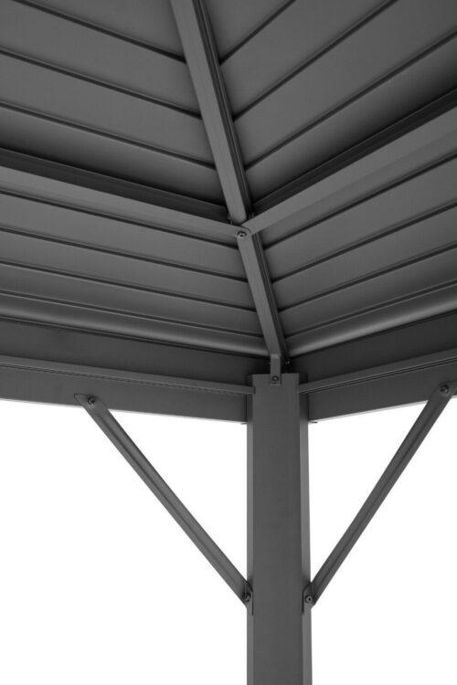 KONIFERA Pavillon Barbados BxL:300x300cm anthrazit B67266903 UVP 669,99€ | KONIFERA Pavillon Barbados BxL 300x300 cm anthrazit B67266903 UVP 66999 233493168825 3