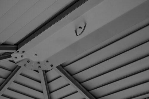 KONIFERA Pavillon Barbados BxL:300x300cm anthrazit B67266903 UVP 669,99€ | KONIFERA Pavillon Barbados BxL 300x300 cm anthrazit B67266903 UVP 66999 233493168825 4