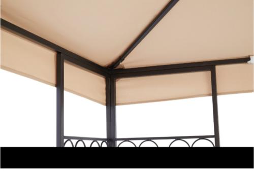 KONIFERA Pavillon »Sumatra«, BxL: 300x400 cm B54546268 Selbstmontage inkl. Aufbauanleitung UVP 229,99€   KONIFERA Pavillon Sumatra BxL 300x400 cm B54546268 UVP 22999 233302786984 4