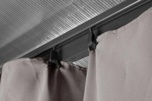 KONIFERA Seitenteilen für Pavillon Tasmanien 300x300cm B96969633ST | KONIFERA Pavillon mit Seitenteilen Tasmanien 300x300 cm B96969633 UVP 49999 333304886976 4