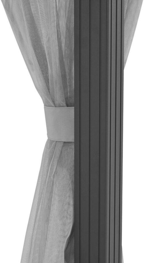 KONIFERA Seitenteile für Pavillon Barbados BxL: 300x400cm 4 Moskitonetze B62198722UVP 79,99€ | KONIFERA Seitenteile Pavillon Barbados 3x4m Moskitonetze B63202351 UVP 7999 333413436585 3