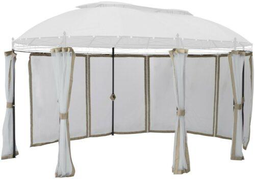 KONIFERA Seitenteile Pavillon Oval, beige, 8Stk,Moskitonetz B95414133 UVP 79,99€   KONIFERA Seitenteile Pavillon Oval beige 8StkMoskitonetz B95414133 UVP 7999 333461156050