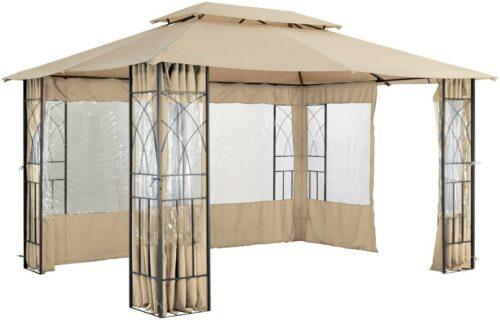KONIFERA Seitenteile für Pavillon Bogen 3x4 B611632 UVP 89,99€   KONIFERA Seitenteile fr Pavillon Bogen mit Fenster 3 x 4 m B709379 UVP 8999 333479866226 3