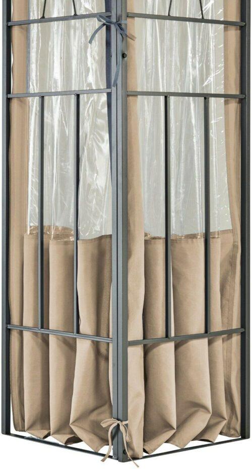 KONIFERA Seitenteile für Pavillon Bogen 3x4 B611632 UVP 89,99€   KONIFERA Seitenteile fr Pavillon Bogen mit Fenster 3 x 4 m B709379 UVP 8999 333479866226 4