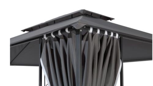 KONIFERA Seitenteile für Pavillon Zier für 3x4m B25673935 UVP 79,99€ | KONIFERA Seitenteile fr Pavillon Zier fr 3x4 m B25673935 UVP 7999 233302031278 2