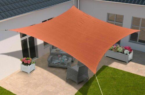 KONIFERA Sonnensegel Viereck 360x360cm orange B79885241 UVP 69,99€ | KONIFERA Sonnensegel Viereck 360x360cm orange B79885241 UVP 6999 333258065067