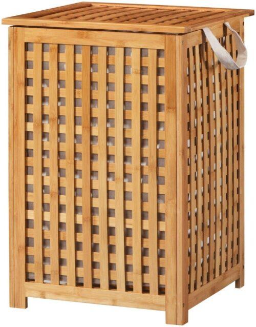 WELLTIME Wäschekorb Bambus Wäschebox 40cm breit B16244128 UVP 79,99€ | KONIFERA Wschekorb Bambus Wschebox 40 cm breit B23156400 UVP 6999 333199921337