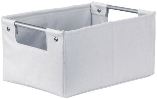 Kleine Wolke Aufbewahrungsbox Gastona Box M silbergrau B716541 UVP 19,99€ | Kleine Wolke Aufbewahrungsbox Gastona Box M silbergrau UVP 1999 B716541 233096956140