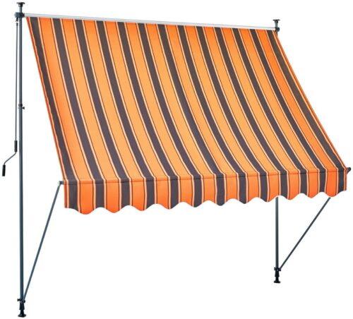 Klemmmarkise orange/braun Breite:350cm B61032825 UVP 129,99€ | Klemmmarkise orangebraun Breite 350 cm B61032825 UVP 12999 232832383048 3
