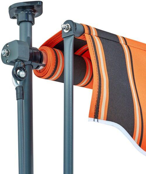 Klemmmarkise orange/braun Breite:350cm B61032825 UVP 129,99€ | Klemmmarkise orangebraun Breite 350 cm B61032825 UVP 12999 232832383048 5