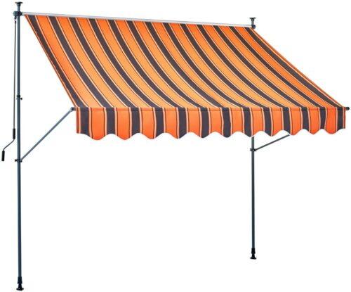 Klemmmarkise orange/braun Breite:350cm B61032825 UVP 129,99€ | Klemmmarkise orangebraun Breite 350 cm B61032825 UVP 12999 232832383048