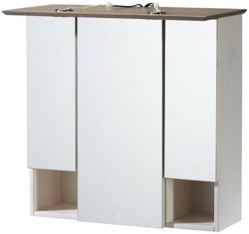 Konifera Spiegelschrank weiß/grau Bad Landhaus/Sund B299819S ehmalige UVP 149,99€   Konifera Spiegelschrank weigrau Bad LandhausSund UVP 17999 B299819 332182351861