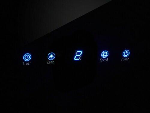 Kopffreihaube Glasschirm 612 m³/h Touch-Control schwarzglas B863269 UVP 249,99€ | Kopffreihaube Glasschirm612 mhTouch Controlschwarzglas B863269 UVP 24999 333276566295 3