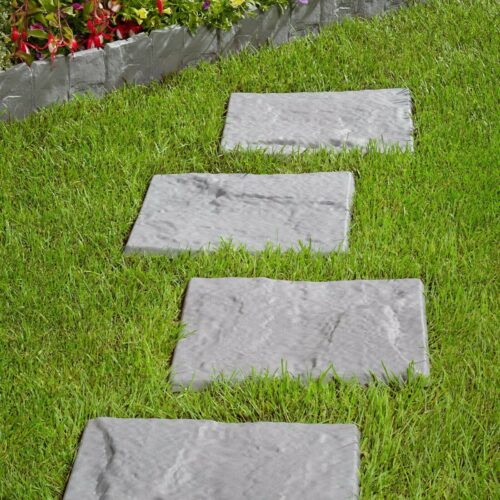 Kunststoff-Fliesen Stone 30x30cm 4 Stück = 0,36m² B17374027 UVP 14,99€ | Kunststoff Fliesen Stone 30x30 cm 4 Stck 036 m B17374027 UVP 1499 333378923401