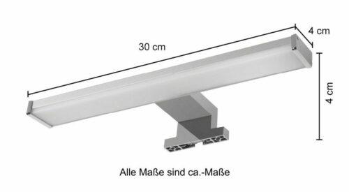 LED-Beleuchtung Luzern Aufsatzleuchte für Spiegel /Spiegelschrank B36313002 UVP 59,99€ | LED Beleuchtung Luzern Aufsatzleuchte fr Spiegel Spiegelschrank B36313002 233185675456 3