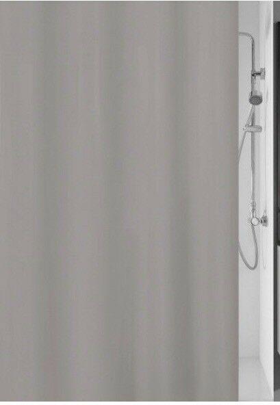 KLEINE WOLKE Duschvorhang Kito 120x200cm B580768 UVP 22,99€ | MEUSCH Bad Duschvorhang Kito Breite 120 cm grau UVP 2299 L580768 233550760292