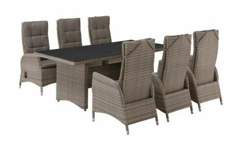 PLOSS Gartenmöbelset Tokio 6 Sesseln Tisch Polyrattan B43104620 UVP 1.199,99€ | PLOSS Gartenmbelset Tokio 6 Sesseln Tisch Polyrattan B43104620 UVP 119999 333257854898 2