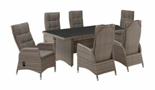 PLOSS Gartenmöbelset Tokio 6 Sesseln Tisch Polyrattan B43104620 UVP 1.199,99€ | PLOSS Gartenmbelset Tokio 6 Sesseln Tisch Polyrattan B43104620 UVP 119999 333257854898