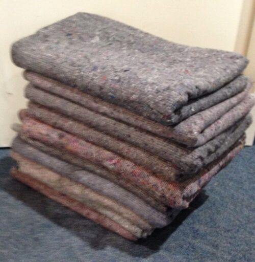 Packdecken / Möbeldecken Decke Möbeldecke  grau-multicolor / 10 Stück | Packdecken Mbeldecken Decke Mbeldecke grau multicolor 10 Stck 332108414503