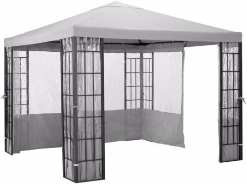 Konifera Pavillon 3x4  Garten Aluminium/Stahl B845740  UVP 299,99€   Pavillon 3x4 Gartenmbel Aluminium UVP 29999 L845740 233550760327 3