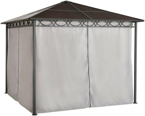 KONIFERA Pavillon mit Seitenteilen Bahama 300x300cm B59451953 ehemalige UVP 449,99€ | Pavillon Bahama BxT 300x300 cm B75908712 UVP 39999 333331528027 4