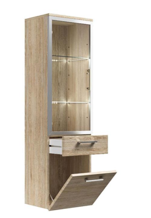 Posseik Möbel Bad Hochschrank mit Glastür Rima B581514 UVP 209,99€ | Posseik Mbel Bad Hochschrank mit Glastr Rima B581514 UVP 20999 333378863098 2