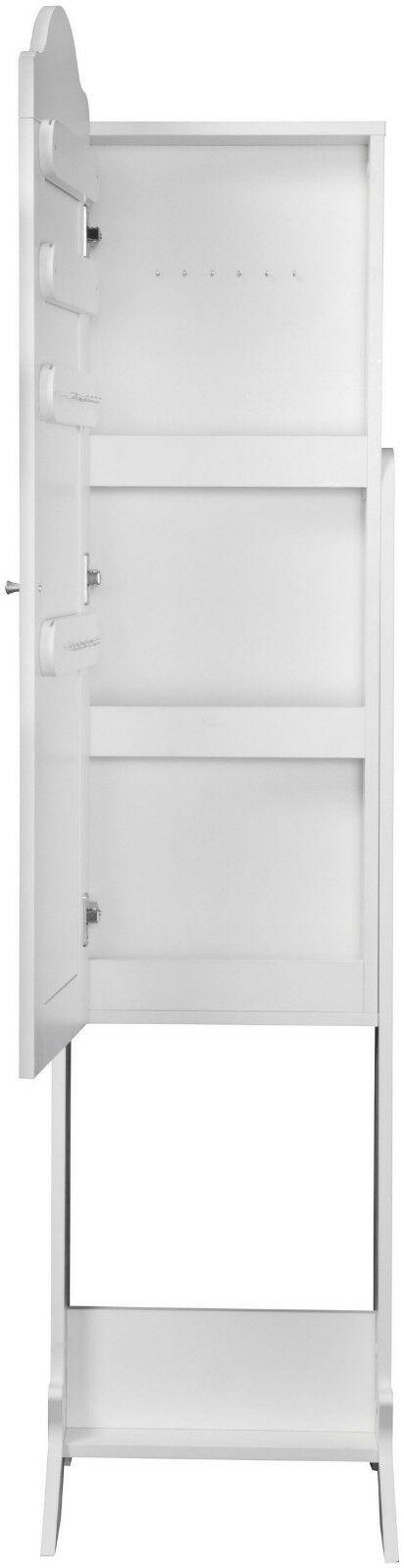 Schmuckschrank Benita Spiegelschrank weiß Spiegel stehend B512943 UVP 129,99€ | Schmuckschrank Benita Spiegelschrank wei Spiegel stehend B512943 UVP 12999 333568230944 2