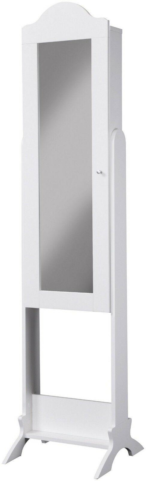 Schmuckschrank Benita Spiegelschrank weiß Spiegel stehend B512943 UVP 129,99€ | Schmuckschrank Benita Spiegelschrank wei Spiegel stehend B512943 UVP 12999 333568230944