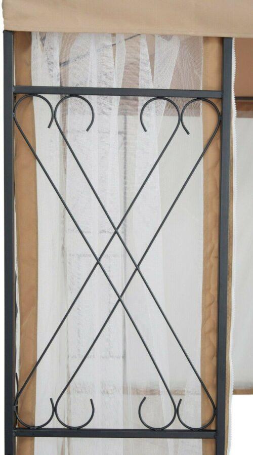 Seitenteile Pavillon Royal für 3x3m 2 Stk. Moskitonetz B60005158 UVP 49,99€ | Seitenteile Pavillon Royal fr 3x3 m 2 Stk Moskitonetz B60005158 UVP 4999 233411240599 4