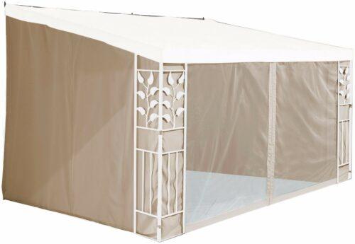 Seitenteile für Anbaupavillon Blätter 3x3 m sandfarben B316245 UVP 83,99€ | Seitenteile fr Anbaupavillon Bltter 3x3 m sandfarben UVP 8399 B316245 232679422107