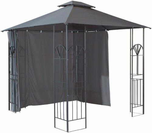 Seitenteile für Pavillon Alu anthrazit B635818 ehemalig UVP 69,99€ | Seitenteile fr Pavillon Alu anthrazit UVP 6999 B635818 332285007087