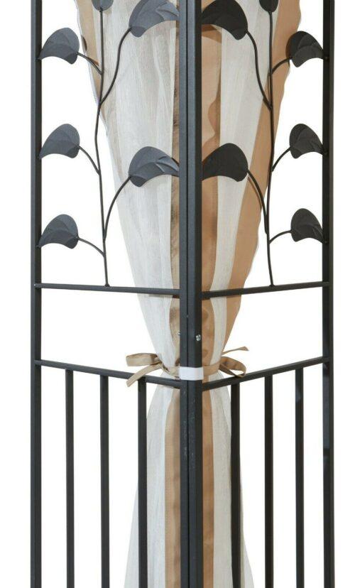 Seitenteile Moskitonetz Pavillon 3x3m Blätter sandfarben B785936 UVP 49,99€ | Seitenteile fr Pavillon Bltter sandfarben B785936 UVP 4999 333113547974 3