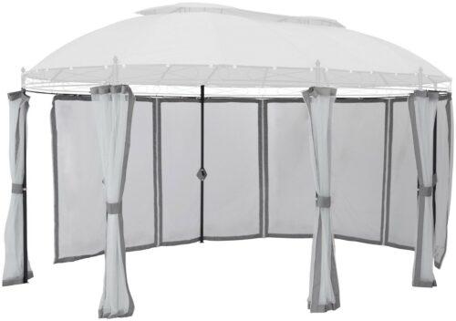 Seitenteile für Pavillon Oval grau mit Moskitonetz B60728313 UVP 79,99€ | Seitenteile fr Pavillon Oval grau mit Moskitonetz UVP 7999 B60728313 232830532578