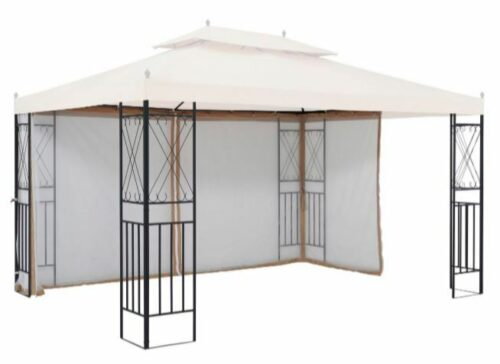 Seitenteile Moskitonetz für Pavillon Roya für 3x4m 2Stk. B79826437 UVP 62,99€ | Seitenteile fr Pavillon Royal fr 3x4 m 2 Stk B79826437 UVP 6299 233037129335