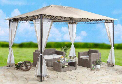 Seitenteile Moskitoneetz für Pavillon Stil sandfarben B338979 UVP 54,99€ | Seitenteile fr Pavillon Stil sandfarben UVP 5499 B338979 333568230960