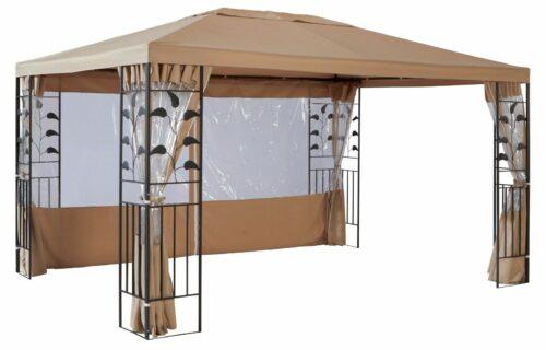 Seitenteile für Pavillon 3x4 Modern Tulpe Blätter sandfarben B329062 ehemaligUVP 79,99€ | Seitenteile fr PavillonModernTulpe Bltter sandfarben UVP 7999 B329062 232409341914