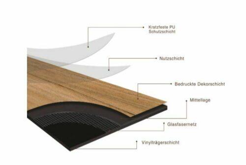 Vinylboden Trento-Pinie schwarz 1200x180 mm Stärke 4mm 2,6m² B17330046 UVP 63,33€   Vinylboden Trento Pinie schwarz 1200 x 180 mm Strke 4mm 26 m B17330046 333162245882 3