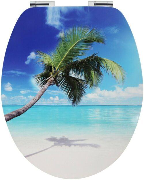 WC-Sitz Beach MDF Toilettensitz mit Absenkautomatik B79339962 UVP 49,99 € | WC Sitz Beach MDF Toilettensitz mit Absenkautomatik B79339962 UVP 4999 333380179683 2