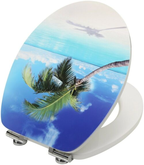 WC-Sitz Beach MDF Toilettensitz mit Absenkautomatik B79339962 UVP 49,99 € | WC Sitz Beach MDF Toilettensitz mit Absenkautomatik B79339962 UVP 4999 333380179683 4
