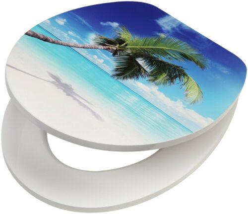WC-Sitz Beach MDF Toilettensitz mit Absenkautomatik B79339962 UVP 49,99 € | WC Sitz Beach MDF Toilettensitz mit Absenkautomatik B79339962 UVP 4999 333380179683